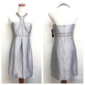 NEW Laundry by Shelli Segal Backless Dress AIK